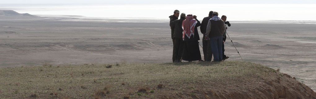 Monitoring of Lesser White-fronted Geese in Syria (Photo: Toni Eskelin)